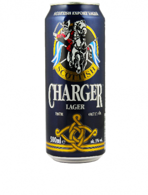 (24 kpl) Charger Lager Beer 5,0% 0,5L