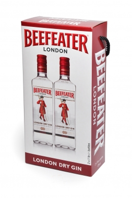 Beefeater London Dry Gin Twinpack 47% 200cl