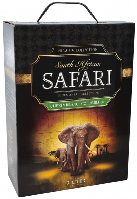 12,5% 300cl Safari Chenin Blanc-Colombard