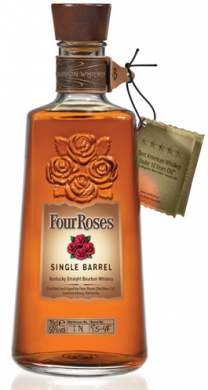 Four Roses Single Barrel Bourbon Whiskey 50% 70cl