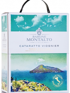 12,5% Barone Montalto Catarratto-Viognier 300cl BIB
