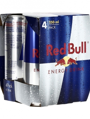 Red Bull 4pack 4x25cl