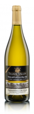 12,5% Teliani Valley Tsinandali Oak Aged 75cl